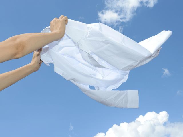 洗濯は干す、たたむを省力化して時短家事