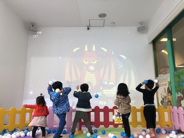 ONOKOROアトラクション雨でも遊べる場所