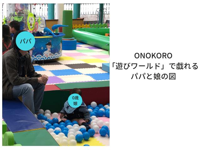 ONOKOROアトラクション0歳児も遊べる